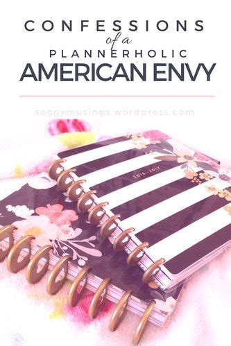 Confessions of a Plannerholic: American Envy | Envelope