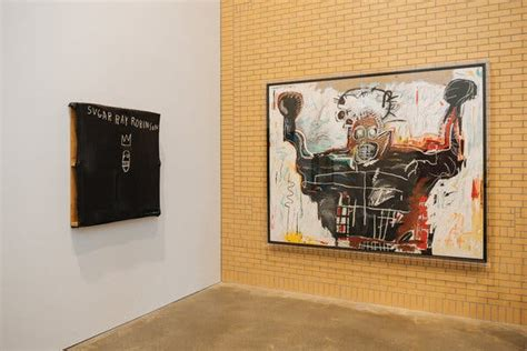 'Jean-Michel Basquiat' at the Brant Shows His Bifurcated