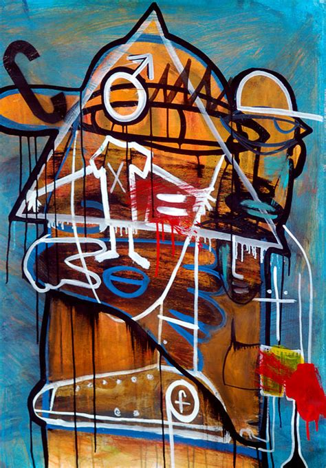 The Art of Boxing: Basquiat   The Mantle